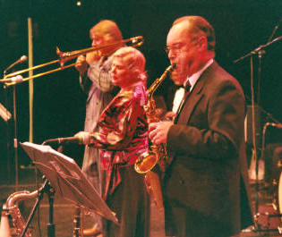 The EL Jazz Band in Burton-upon-Trent, Staffordshire