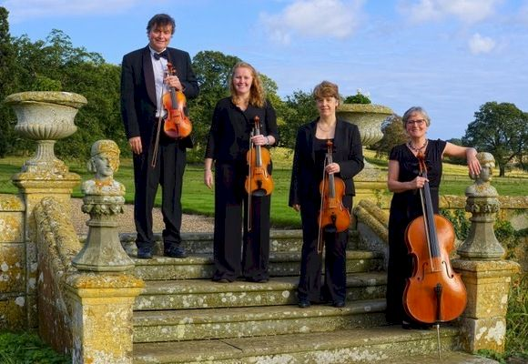 The CE String Quartet in Derbyshire