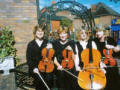 The SI String Quartet in Derbyshire