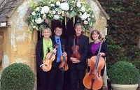 The CE String Quartet in Berkshire