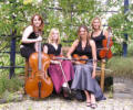 The NS String Quartet in Suffolk