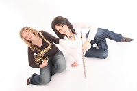 The SB  Duo  - saxophone / flute & piano in England