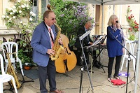 Judy  & her Jazz Band in Aylesbury, Buckinghamshire