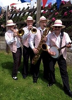 The MG Jazz Band in Yorkshire