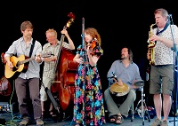 The FW Folk Band in Gloucestershire