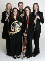 The SA Wind Quintet in Wales