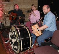 The HPT Barn Dance / Ceilidh Band in the Mendips, the South West