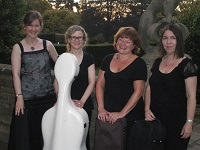 The CP String Quartet in Berkshire