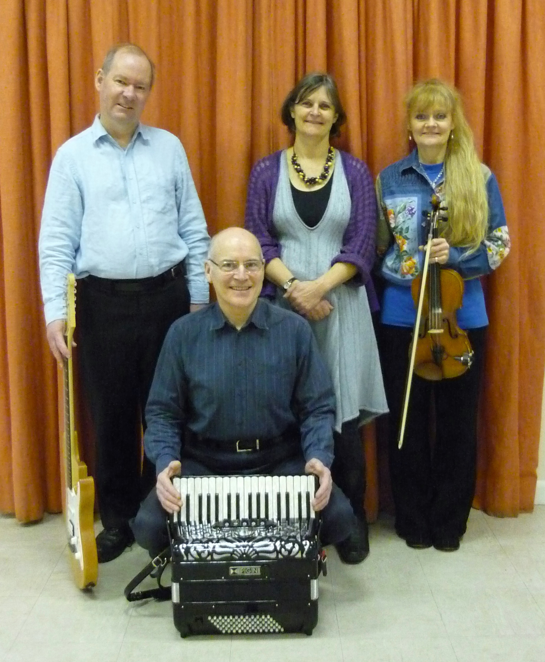 The SF English Barn Dance Band in Hampshire