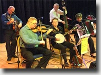 The SL Scottish Ceilidh Band in Berwickshire