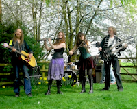 The OK Ceilidh Band in Burton-upon-Trent, Staffordshire