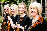 The SB String Quartet in Bedfordshire