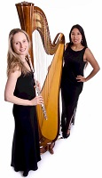 The HS Flute & Harp Duo in Suffolk