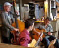 The UL Gypsy Jazz/Swing Band in Devon