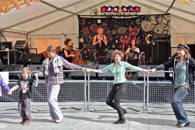 The KK Ceilidh Band in Gloucestershire