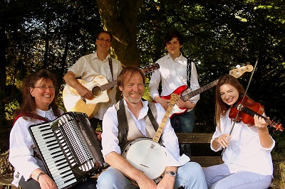 The SR Barn Dance /Ceilidh Band in Cheshire
