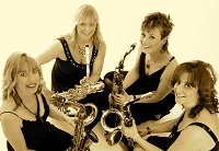 The ST Saxophone Quartet in Bedfordshire