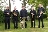 The TS Brass Quintet in Bedfordshire