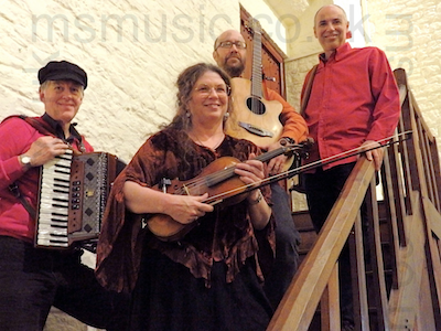 The AF Barn Dance/ Ceilidh Band in Devon