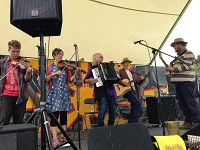 The TP Ceilidh Band in Wales