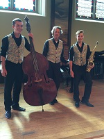 The GT Jazz Trio in North Wales