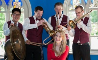The PR Jazz Band in Hampshire