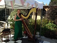 Armande - Harpist in Huntingdonshire