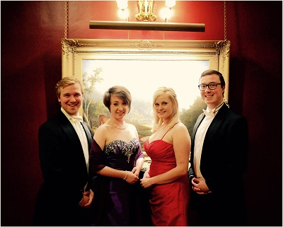 The BR Vocal Quartet in England