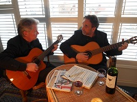 The CA Guitar Duo in Bedfordshire
