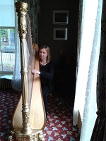 Harpist - Anna in the East Midlands
