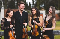 The LS String Quartet in Bedfordshire