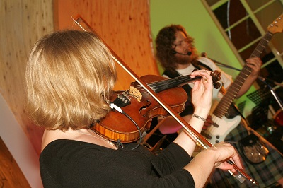 The SP Scottish Ceilidh Band in Berwickshire
