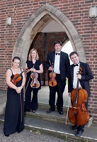The AT String Quartet in Berkshire