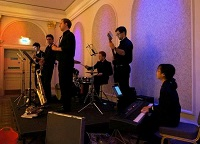 The AT Jazz Band in Warwickshire