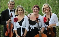 The CB String Quartet in Cheshire