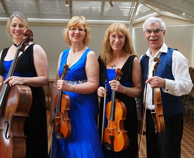 The SC String Quartet in Derbyshire