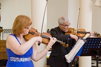 The SC String Duo in Central Wales
