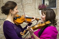 The AB String Duo in Northumberland
