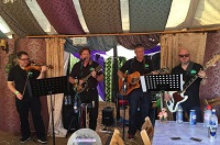 The KC Irish Folk Band in the Mendips, the South West