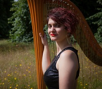 Harpist - Anna in Buckinghamshire