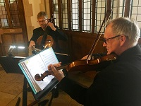 The FS String Duo in England