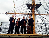 The FS String Quartet in England