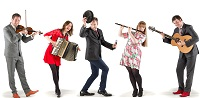 The CM Ceilidh Band in Northamptonshire