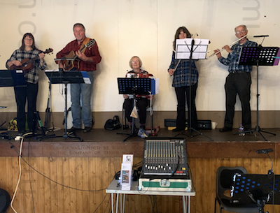 The RJ Ceilidh Band in Hampshire