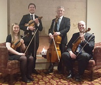 The AR String Quartet in the Scottish Highlands