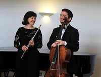 The DB Flute & Cello Duo in Northamptonshire