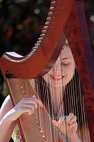 Harpist - Scarlett in the South West