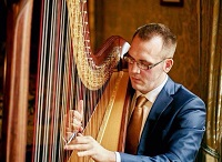 Harpist - Llwelyn in Buckinghamshire