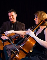 The DA Cello & Guitar Duo in the East of England
