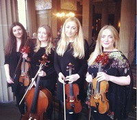 The EC String Quartet in Derbyshire